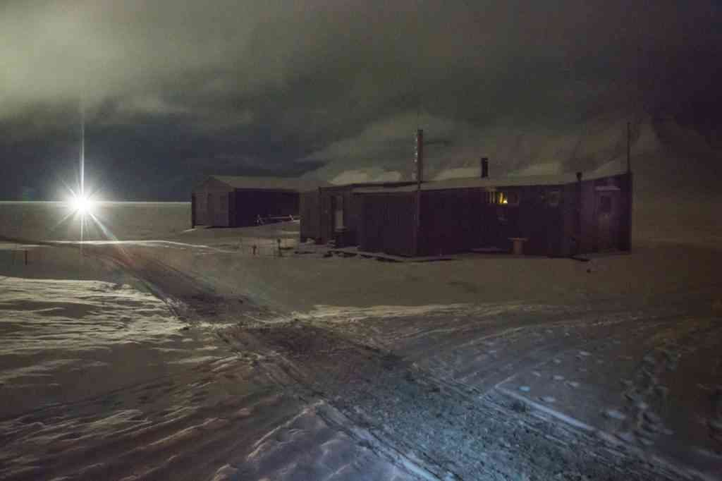 Old airport in Longyearbyen, Svalbard