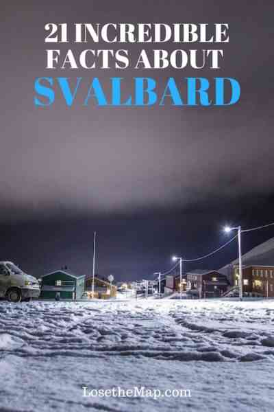Visit Svalbard Facts