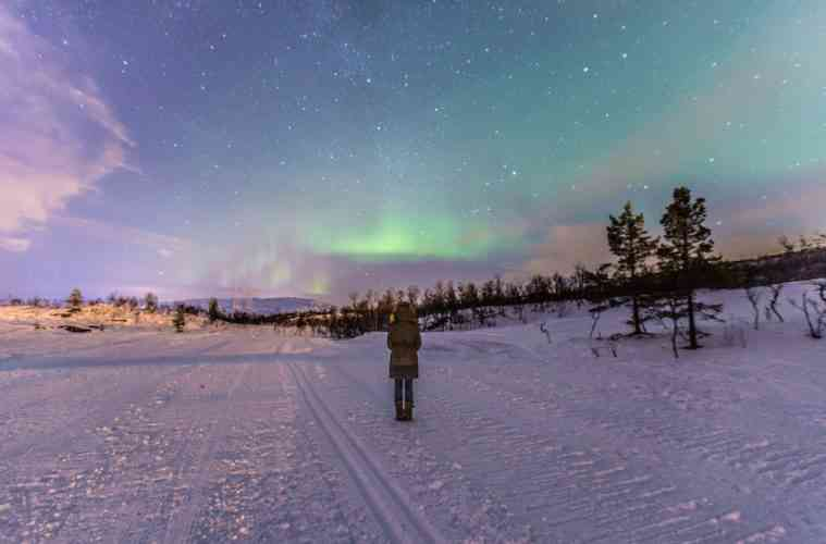Northern Lights Full Photo