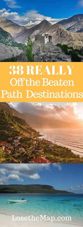 Off the Beaten Path Destinations
