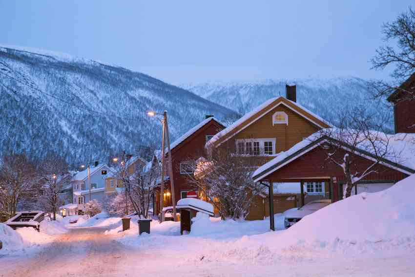 Things to do in Tromso - houses