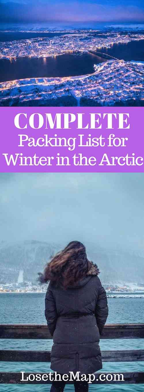 Arctic Packing List - cold weather gear and clothing