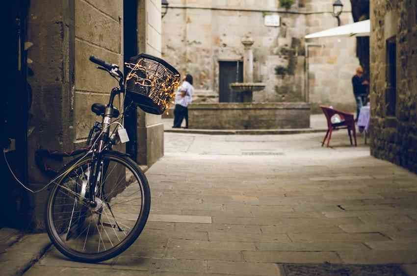 Barcelona Biking
