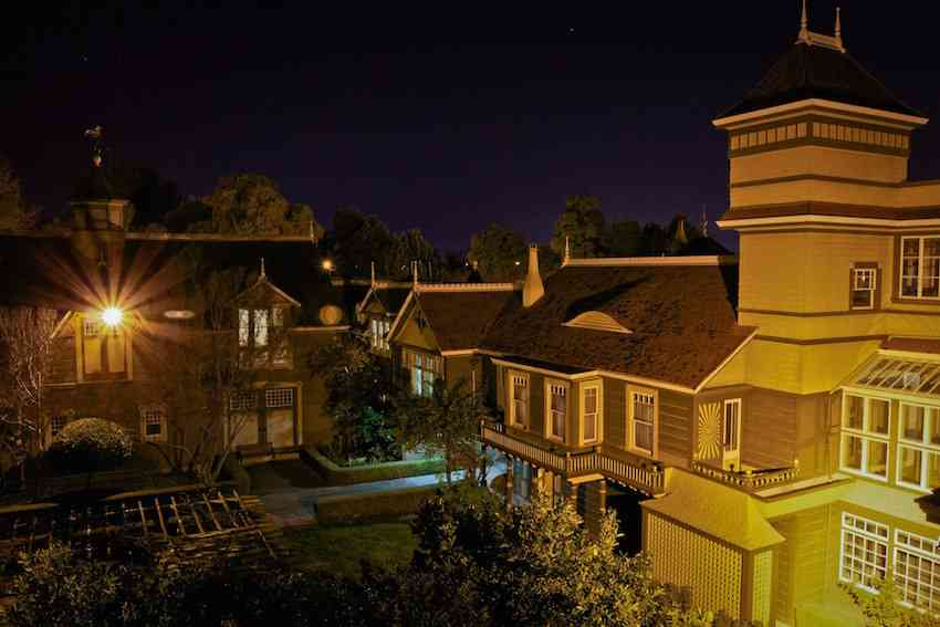 Winchester House night