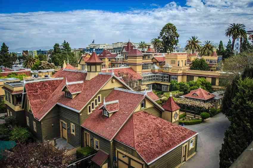 View of Winchester Mystery House