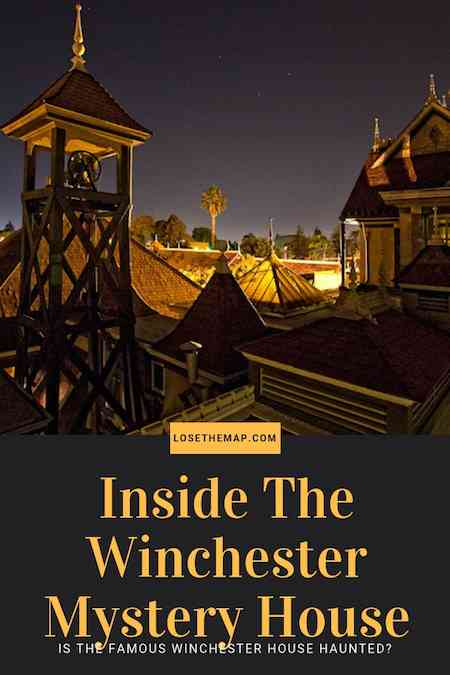 Winchester Mystery House haunted