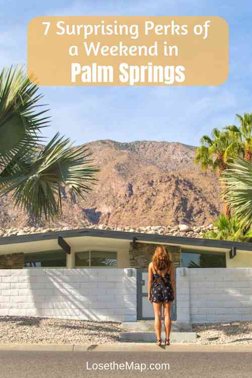 Discover the surprising perks of spending a weekend in Palm Springs. Whether's it's amazing desert homes, incredible architecture, delicious restaurants, fun bars, or cool art, Palm Springs has something to offer every visitor.