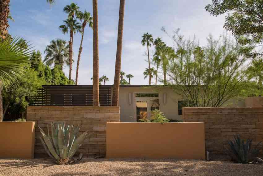 Palm Springs desert house