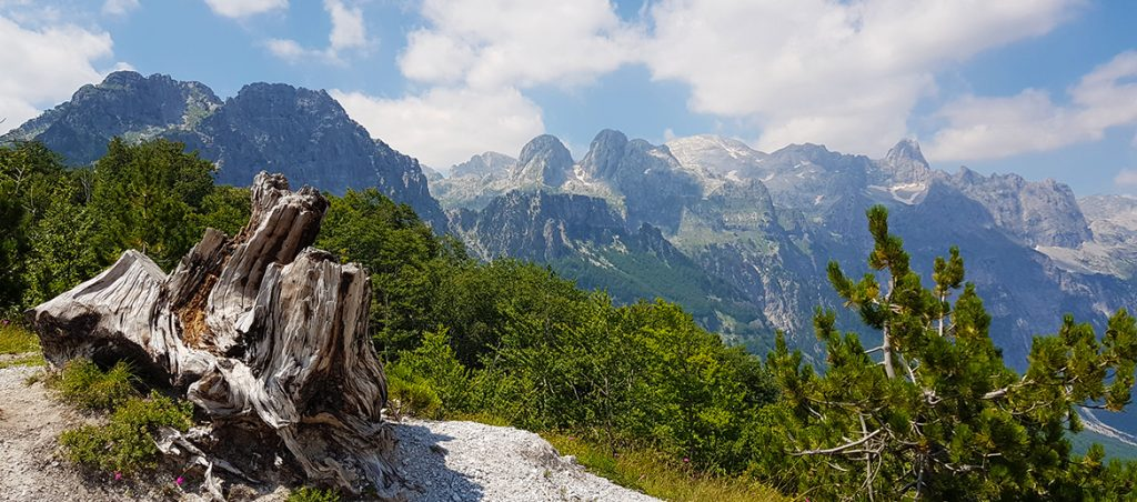 Hiking the Albanian Alps