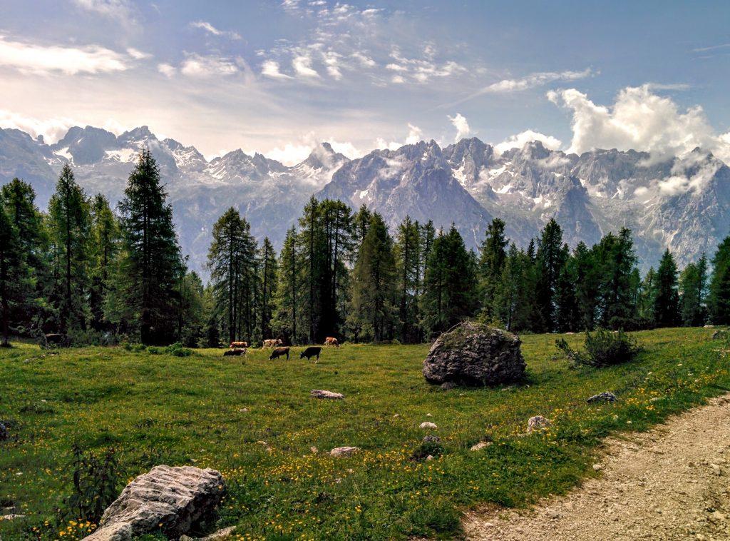Cadini di Misurina landscape in Italy