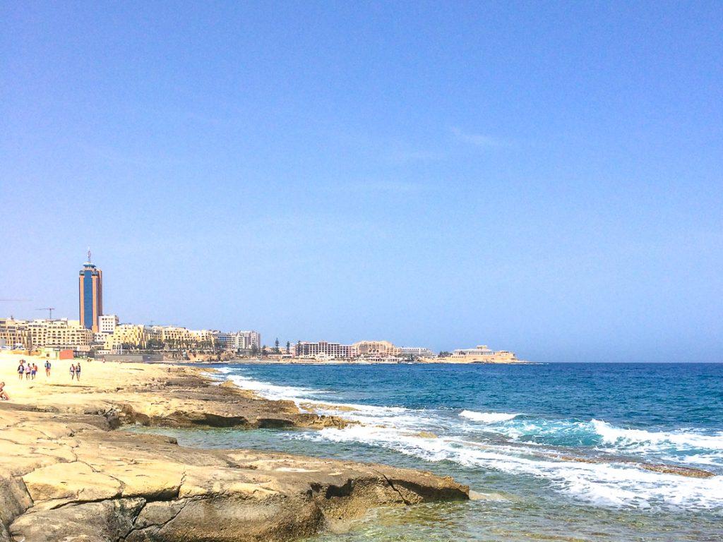 Malta coastline