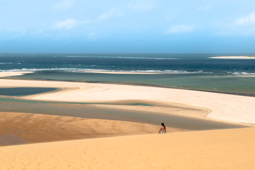 The dunes and ocean of Mozambique, 2019 adventurous destination