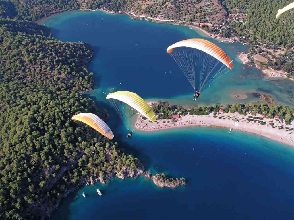 Parasailing adventure in Turkey