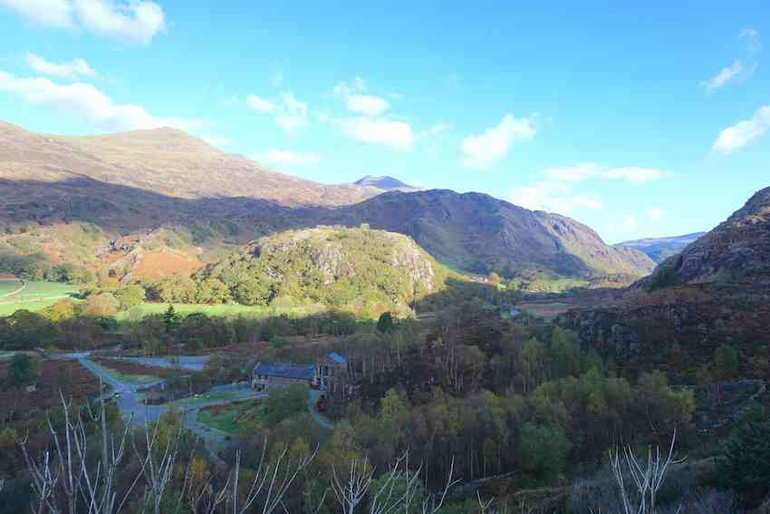 Landscapes of Snowdonia in Wales