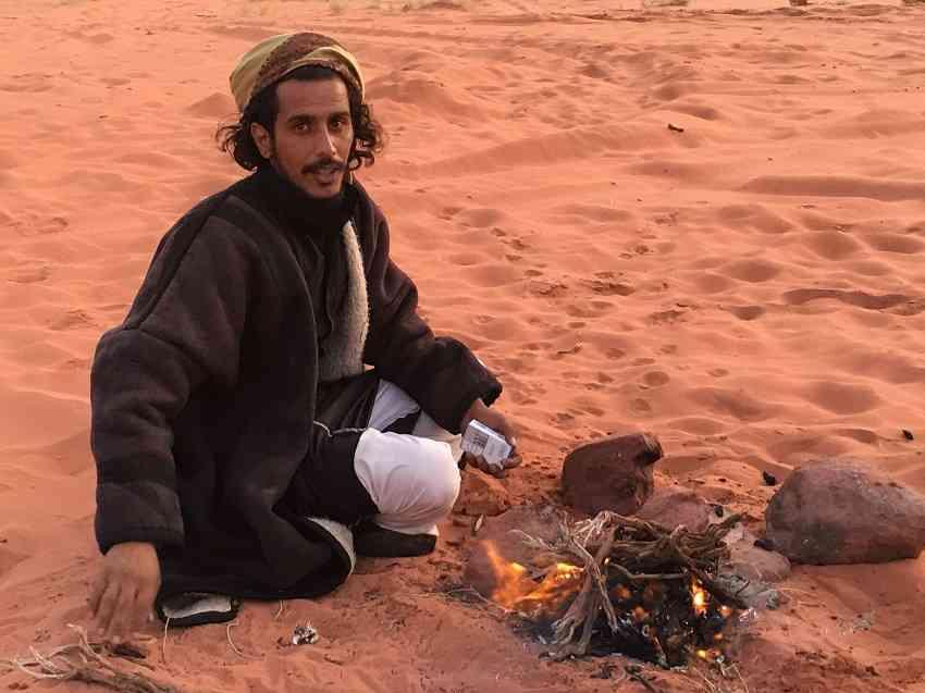 Bedoun in Wadi Rum