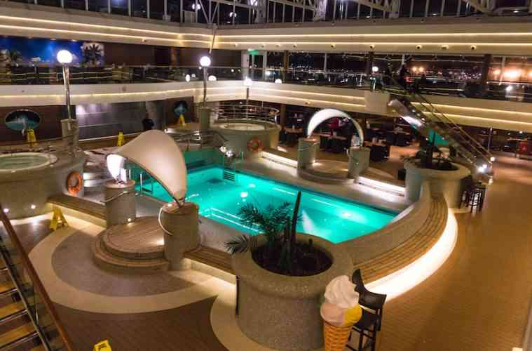 MSC Magnifica Pool