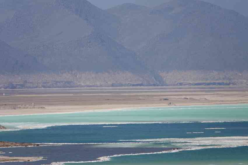 Lac Assal in Djibouti