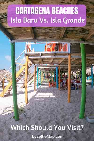 beaches in Cartagena Colombia