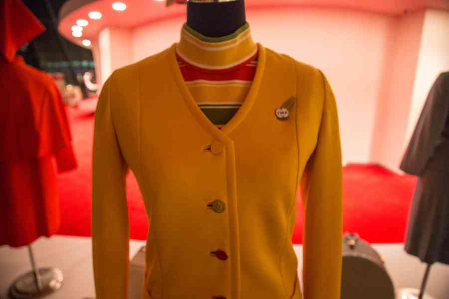 TWA Uniform Close Up
