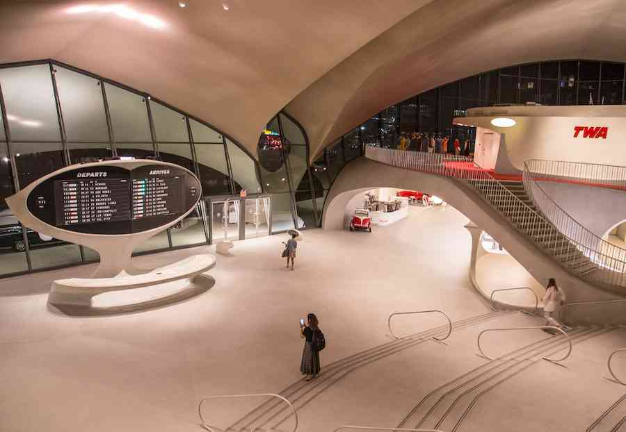 Inside the TWA Hotel