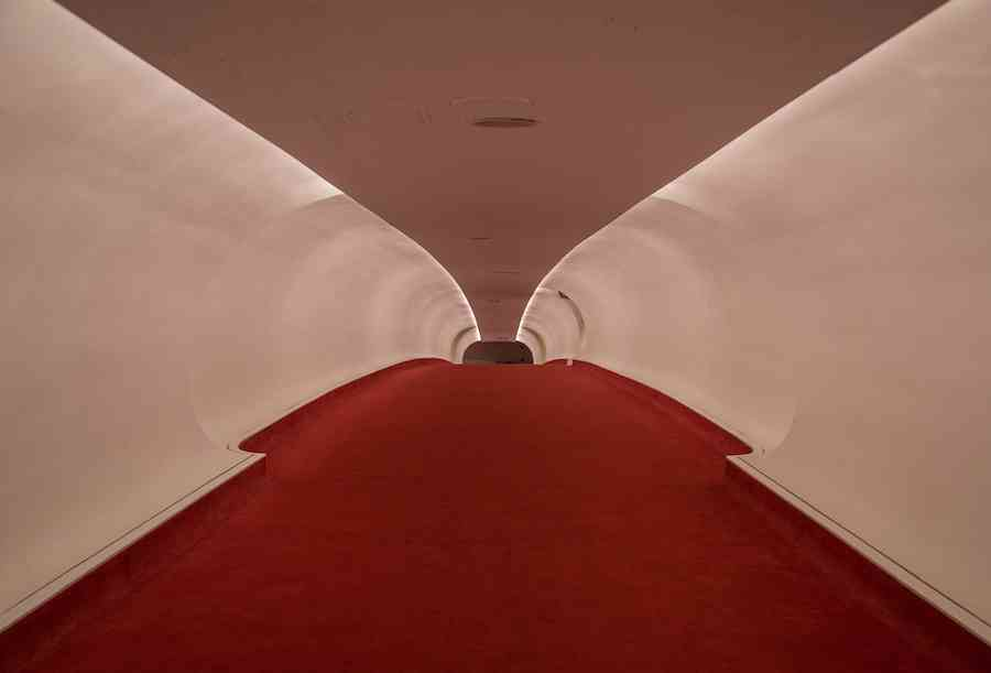 TWA Hotel tunnel