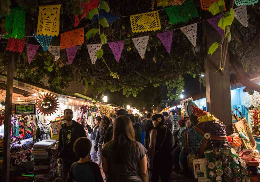 Dia de Los Muertos Olvera Street