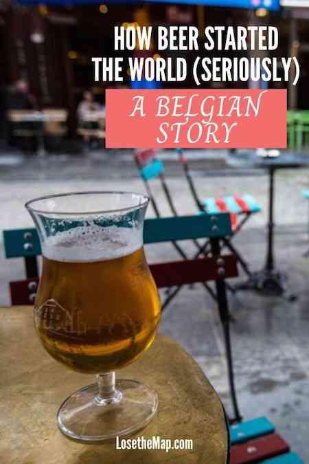 Belgium Beer Post Canva