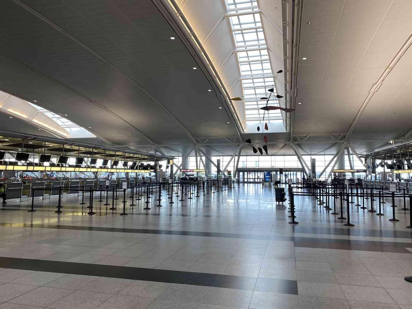 Empty JFK Airport