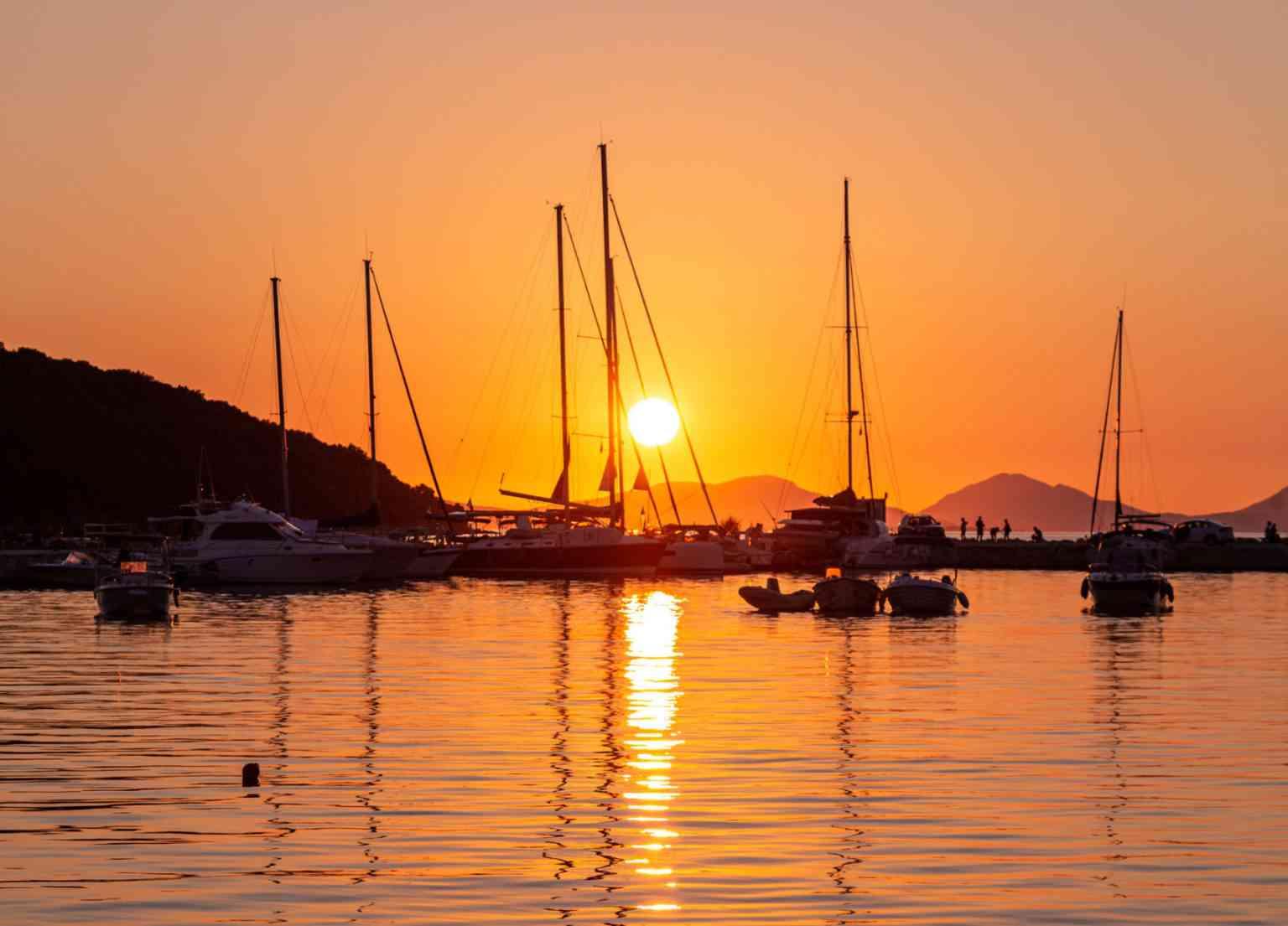Sunset in Paxoi
