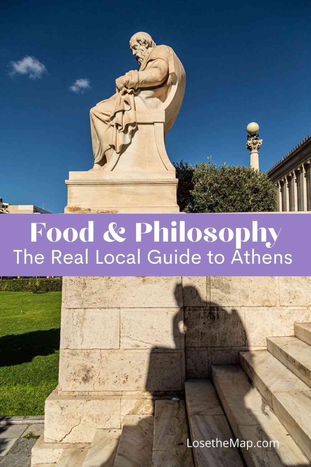 Food and philosophy of Athens