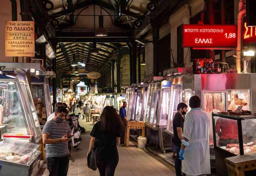 Athens Central Market - Varvakeios