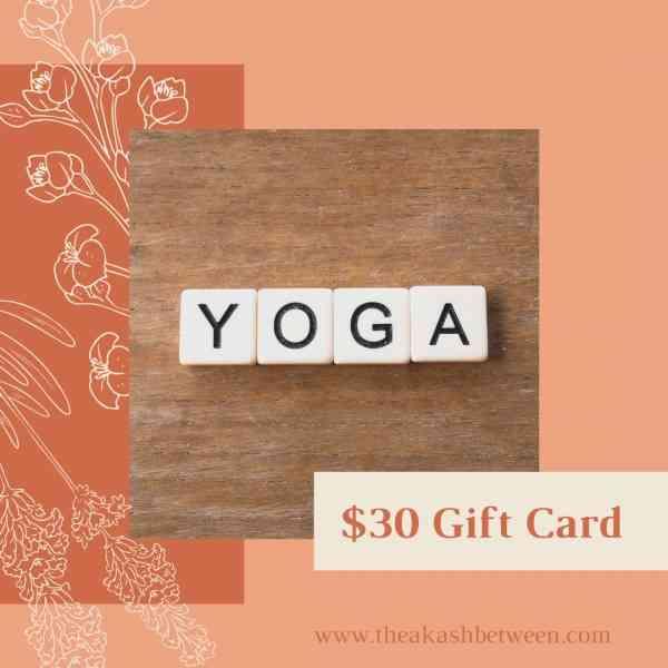 The Akash Between - Yoga