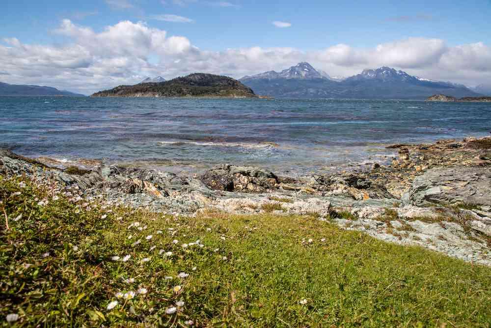 Tierra del Fuego seashore