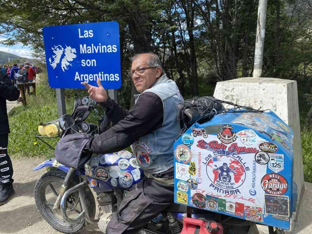 Pan American Highway end