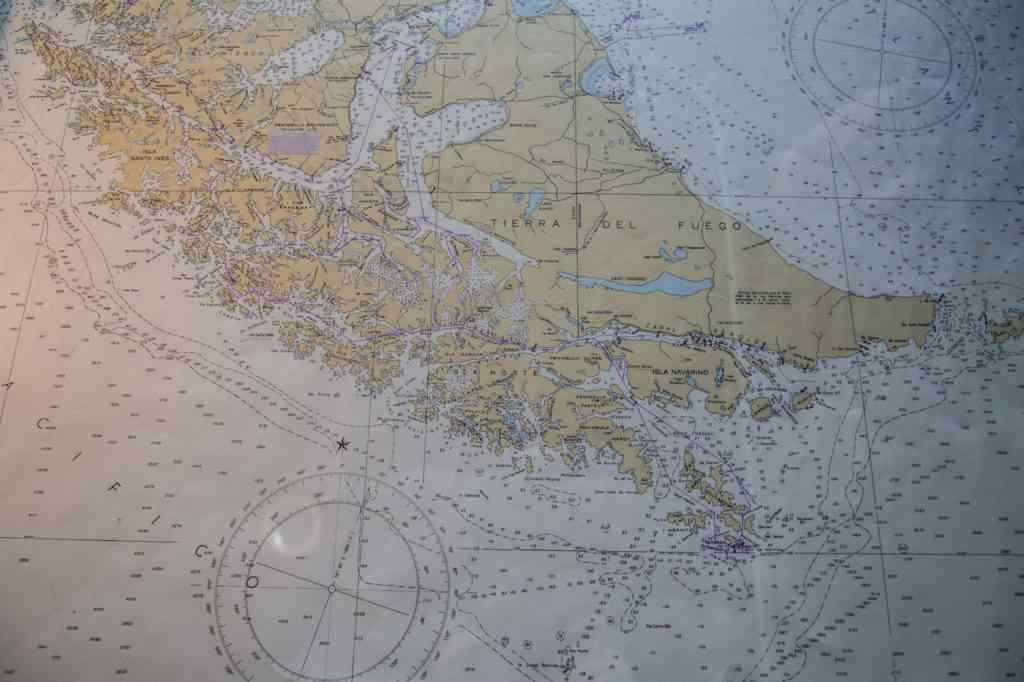 Map of Patagonia