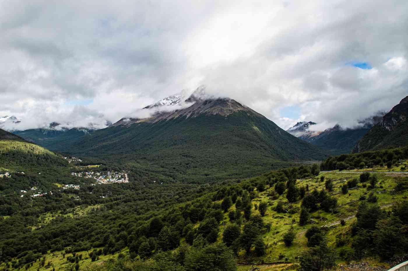 Landscape around Ushuaia