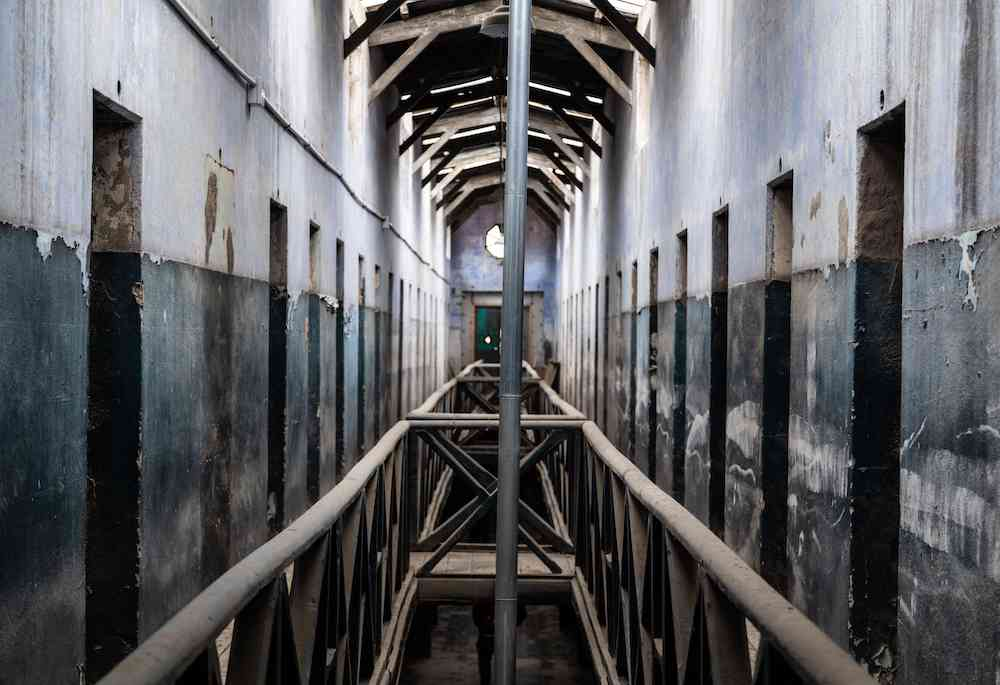 Ushuaia prison second floor