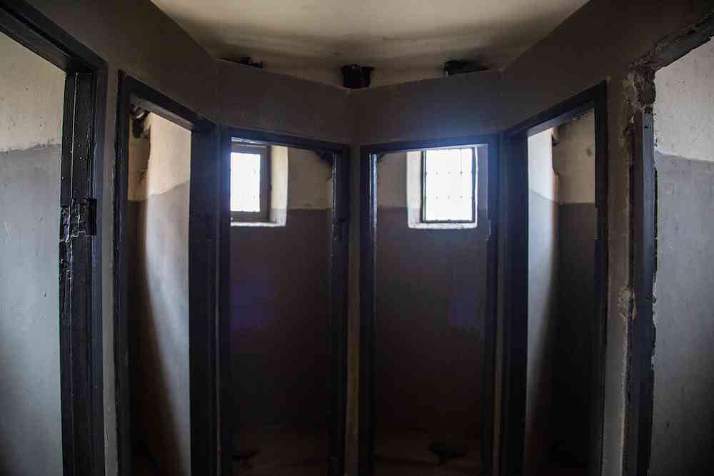 Ushuaia prison showers