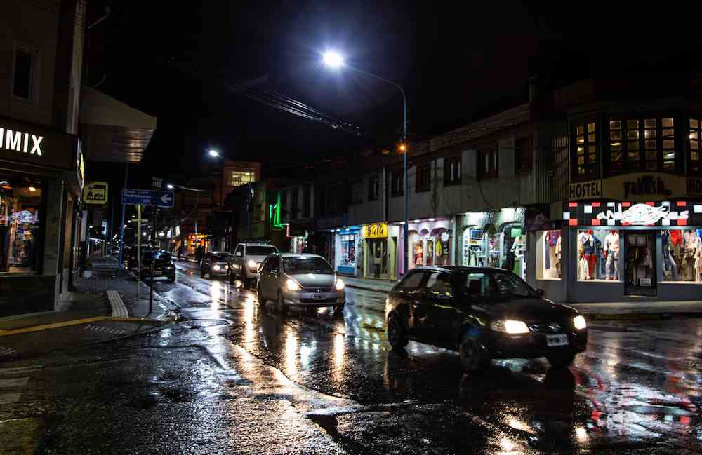 What to do in Ushuaia at night