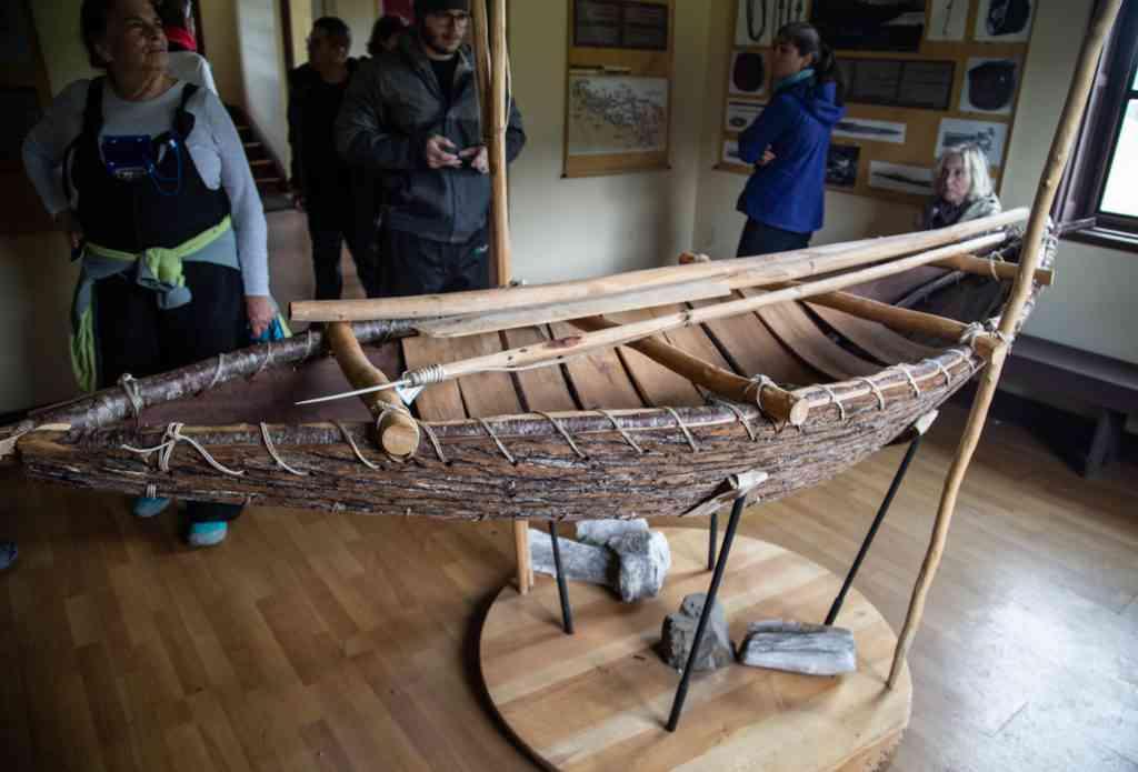 Yamana canoe