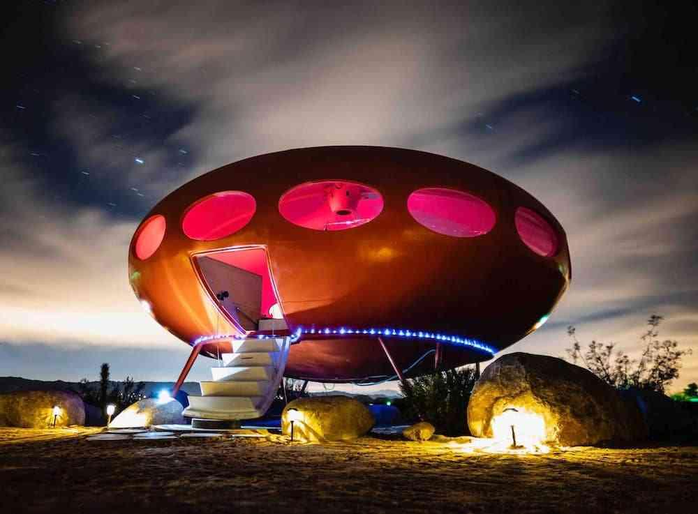 Joshua Tree UFO - cool Airbnbs in California